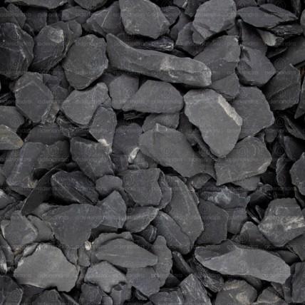 Marmura Neagra feliata, Ardezie, granulatie 20-50 mm, 25 Kg