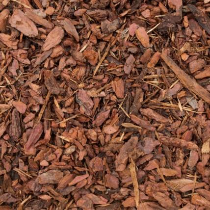 Scoarta decorativa de pin, granulatie 0.5–2 cm, sac 70 Litri