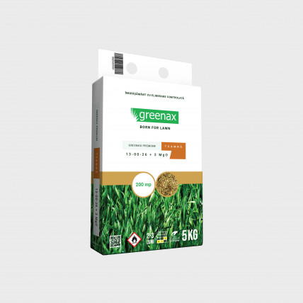 Ingrasamant Greenax Premium Toamna, (NPK 13-00-26 + 3 MgO), 5 kg